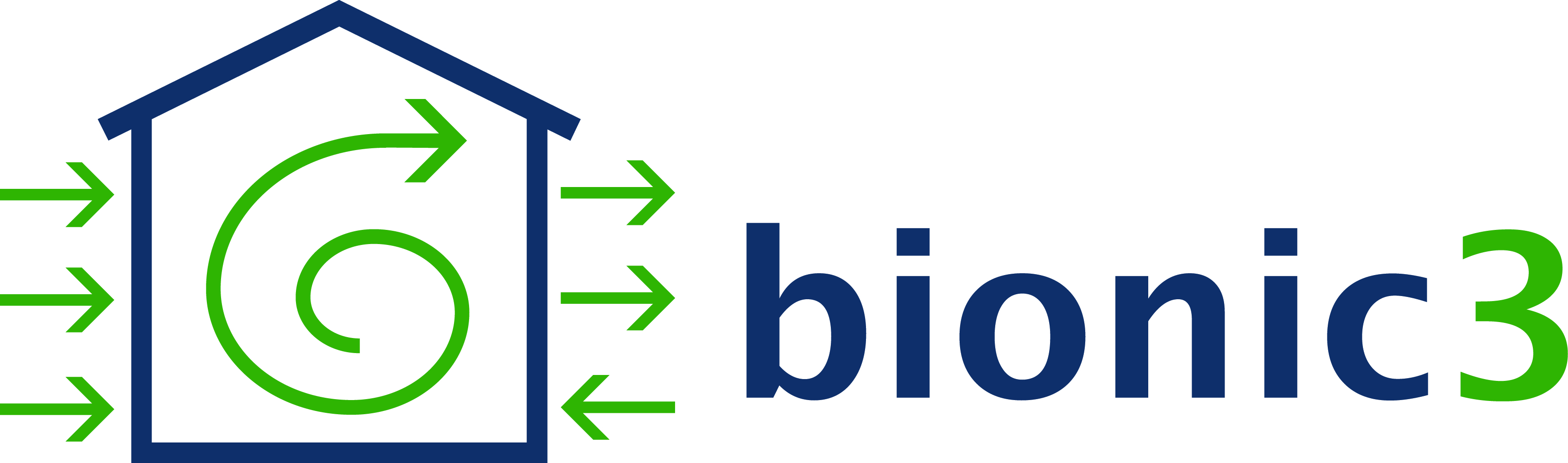 Logo bionic3 GmbH – Blowerdoor-Messungen und Luftdichtheitsmessungen