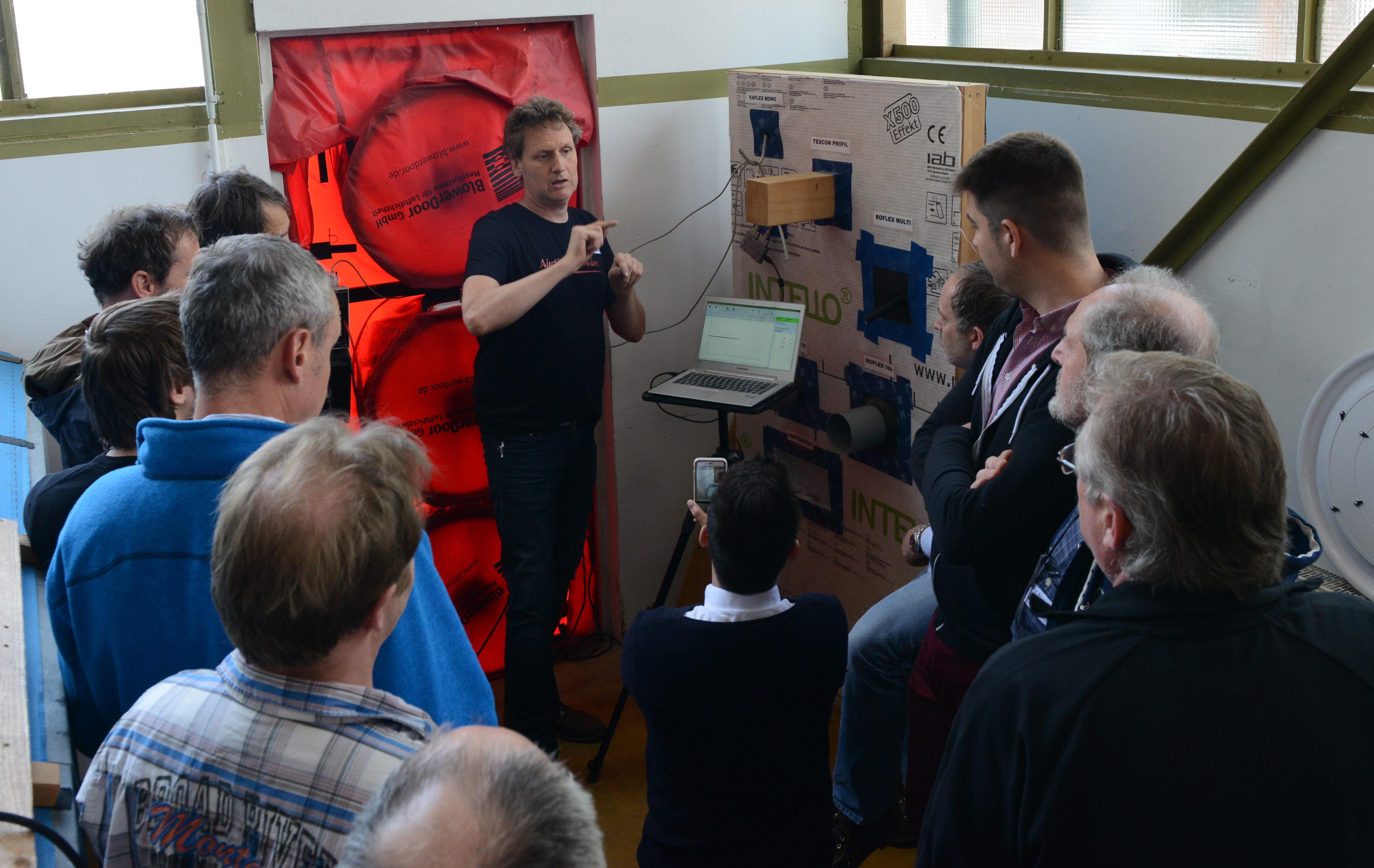 Weiterbildung Blower-Door-Messdienstleister (TRA) – TÜV Rheinland Akademie